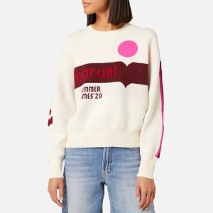 Isabel Marant Étoile Women's Kleden Sweater - Pink/Ecru