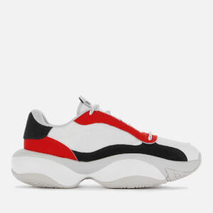 Puma Men's Alteration Core Trainers - White/Red Multi