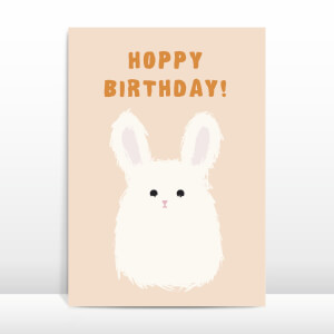 Hoppy Birthday! Greetings Card