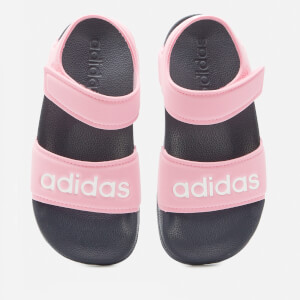 adidas Girls Adilette Sandals - True Pink