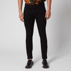 Dsquared2 Men's Skater Jeans Resin Treatment - Black