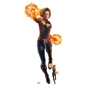 Captain Marvel/Carol Danvers (Brie Larson) Life Size Cut-Out