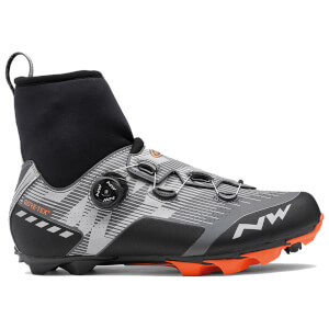 Northwave Raptor GTX Winter Boots - Reflective/Orange Lobster