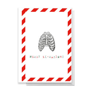Merry X(-Ray)mas Ribs Greetings Card