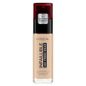 L'Oréal Paris Infallible 24H Liquid Foundation 30ml (Various Shades)
