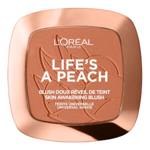L'Oréal Paris Wake up and Glow Life's a Peach Blush - 01 Peach Addict 7.5g