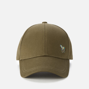 PS by Paul Smith Men's Zebra Baseball Hat - Khaki