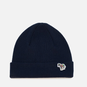 PS Paul Smith Men's Zebra Beanie - Navy