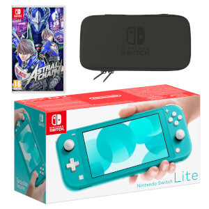 Nintendo Switch Lite (Turquoise) ASTRAL CHAIN Pack
