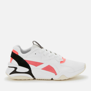 Puma Women's Nova Pop Trainers - Puma White/Bubblegum/Ignite Pink