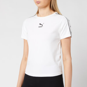 Puma Women's Classics Tights Top - Puma White