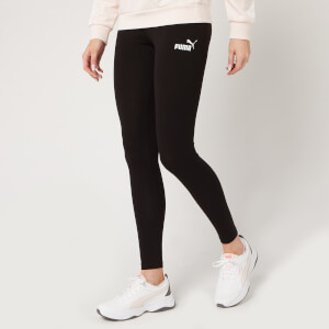Puma Women's Essential Leggings - Cotton Black