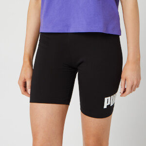 "Puma Women's Ess+ 7"" Short Tights - Puma Black"