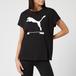 Puma Women's Nu/Tility Short Sleeve T-Shirt - Puma Black