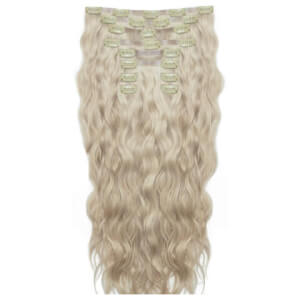 Beauty Works 18 Inch Beach Wave Double Hair Extension Set (Various Shades)