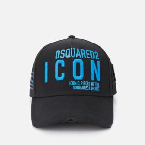 Dsquared2 Men's New Icon Cap - Nero Bluette