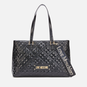 Love Moschino Women's Large Quilted Shopper - Black