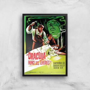 Dracula Prince Des Tenebres Giclee Art Print