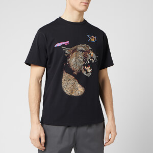 Puma X Rhude Men's Graphic Short Sleeve T-Shirt - Black