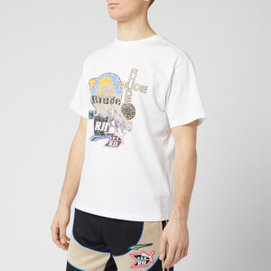 Puma X Rhude Men's Graphic Short Sleeve T-Shirt - White