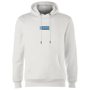 Everyday Colour Collection - White/Blue/Yellow Hoodie - White