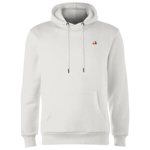 Telepathic Connection - White Hoodie - White