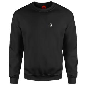 A Captain's Knock - Black Sweatshirt - Black