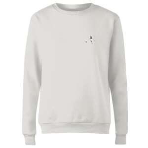 What A Strike - White Women's Sweatshirt - White