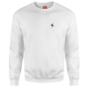 Red Mist Descends - White Sweatshirt - White