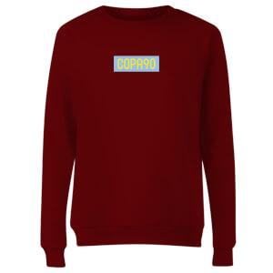 COPA90 Everyday - Maroon/Blue/Yellow Women's Sweatshirt - Burgundy