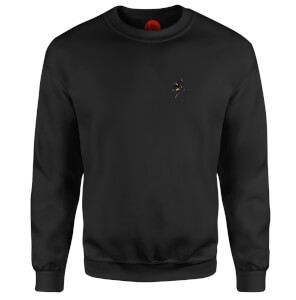Red Mist Descends - Black Sweatshirt - Black