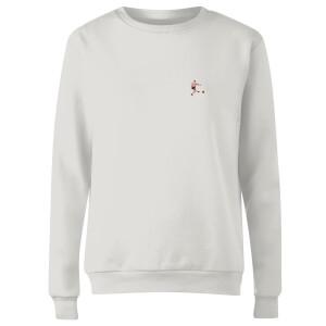 'Le God' Strikes Again - White Women's Sweatshirt - White
