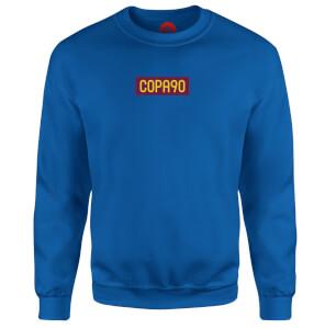 COPA90 Everyday - Light Blue/Maroon/Yellow Sweatshirt - Royal Blue