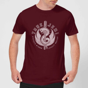 Star Wars: The Rise Of Skywalker True Jedi Men's T-Shirt - Burgundy