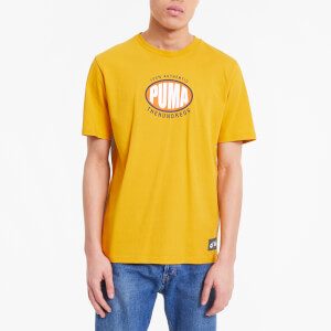 Puma X The Hundreds Men's Short Sleeve T-Shirt - Golden Rod