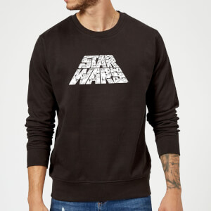 Star Wars The Rise Of Skywalker Star Wars IW Trooper Filled Logo Sweatshirt - Black