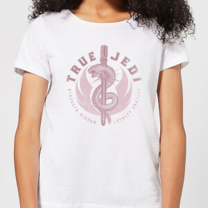 Star Wars The Rise Of Skywalker True Jedi Women's T-Shirt - White