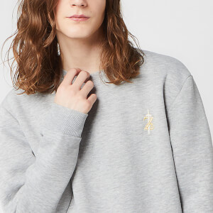 Nintendo Zelda Unisex Embroidered Sweatshirt - Grey
