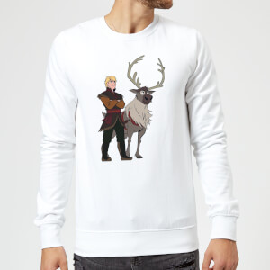 Frozen 2 Sven And Kristoff Sweatshirt - White