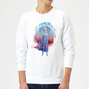 Frozen 2 Find The Way Colour Sweatshirt - White