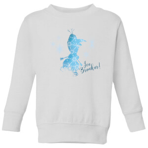 Frozen 2 Ice Breaker Kids' Sweatshirt - White