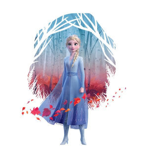 Frozen 2 Find The Way Colour Women's T-Shirt - White