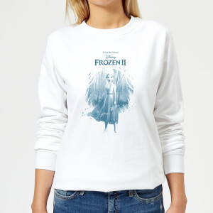 Frozen 2 Find The Way Women's Sweatshirt - White