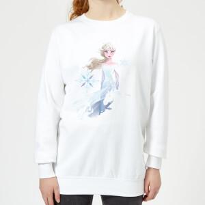 Frozen 2 Nokk Sihouette Women's Sweatshirt - White