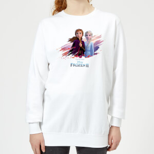 Frozen 2 Nature Is Beautiful Women's Sweatshirt - White