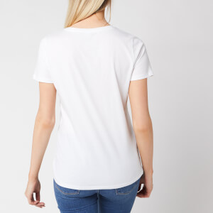 BOSS Women's Tecatch Short Sleeve T-Shirt - White