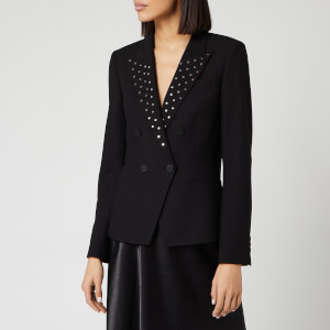 HUGO Women's Anilie Blazer - Black