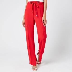 HUGO Women's Hilika Trousers - Open Pink