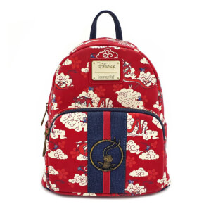 Loungefly Disney Mulan Mushu Cloud Mini Pu Backpack