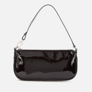 by FAR Women's Rachel Patent Leather Bag - Black